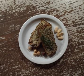 Prei rozemarijn notenbrood